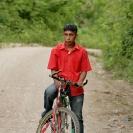 Man with mountainbike - Guatemala