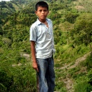 Boy with machete - Guatemala
