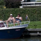People in boats